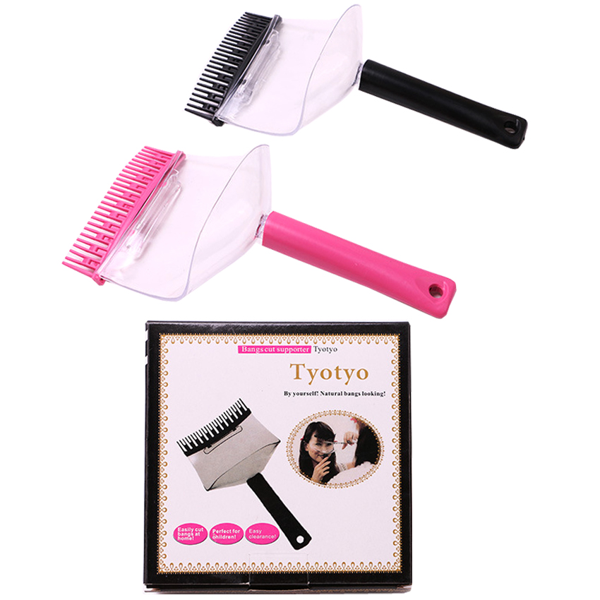 Styling Accessories Logical New Design Diy Hair Bangs Trimmer Comb Personal Hairstyling Tools Tokyo Hair Comb For Bangs Eye Protector For Salon