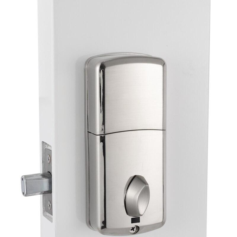 Image 2 - Cheap smart Home Digital Door Lock, Waterproof Intelligent Keyless Password Pin Code Door Lock Electronic Deadbolt Lock-in Electric Lock from Security & Protection