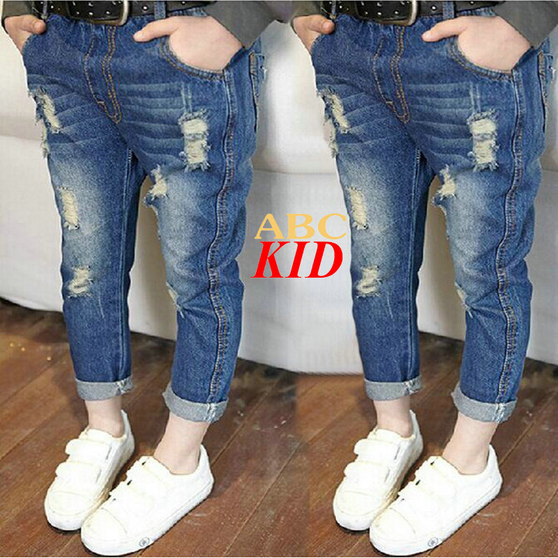 Online Get Cheap Kids Distressed Jeans -Aliexpress.com | Alibaba Group