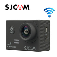Бесплатная Доставка! Оригинальный SJCAM SJ5000X Elite Wi-Fi 4 К 24fps 2 К 30fps гироскопа Спорт HD DV Дайвинг 30 м Шлем Действие Камера