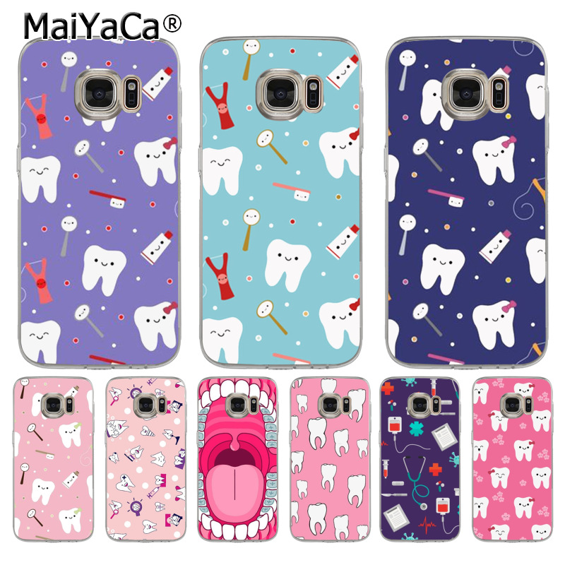 Phone Bags & Cases Honest Maiyaca Tooth Nurse Doctor Dentist Stethoscope Tooth Injections Phone Case For Samsung Galaxy S9 S7 S6 Edge S5 S8 Plus Case Ample Supply And Prompt Delivery