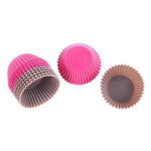 Image 5 - 12pcs/Lot Food Grade Silicone Mini Cupcake Liners Cake Tools Silicone Cake Mold Cupcake Muffin Cups