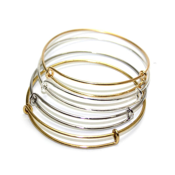 Trendy Famous Gold Silver Rose Crystal Top Quality Pretty Lady Bangle Lover Bracelet Jewelry Metal Bracelets Bangles In From