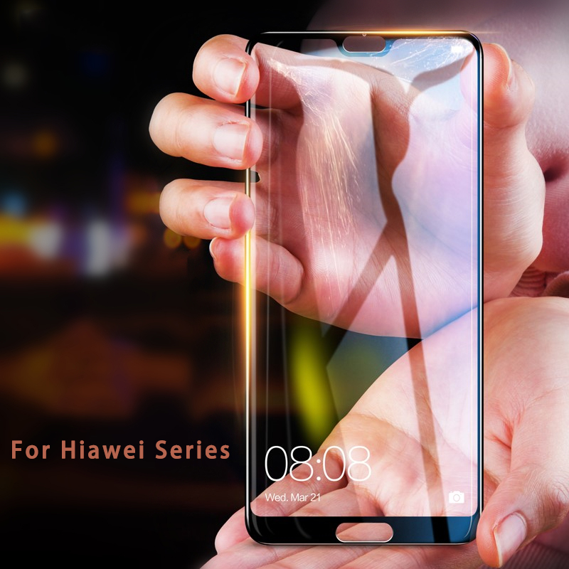 Full Cover Tempered glass For Huawei P20 P 20 Lite Pro P Smart case Honor 9 8 Lite 2017 7X 6X 6A 6C 9H Premiun Protector Flim