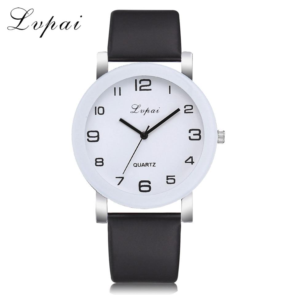 Lvpai Brand Fashion Original Hight Quality Wristwatch Fashionable Unique Leather Watchband Watch Women Quartz Dress Watch
