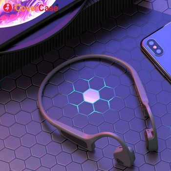 Bluetooth Bone Conduction Headphones For Huawei p smart 2019 p30 p20 pro p8 lite 2017 p9 p10 plus Wireless Earphone Headset