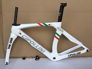 Image 3 - Cipollini Road Bike Carbon Frame 3K RB1K Racing Bicycle Frameset T1000 Carbon Road Frame Fork+Seatpost+Clamp+Headset