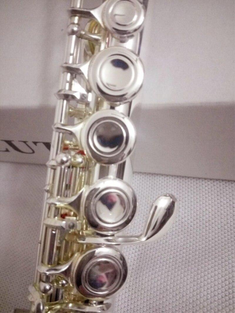 Haute qualité flûte japon 211SL instrument de musique flûte 16 sur C air et e-key flûte musique professionnel livraison gratuite