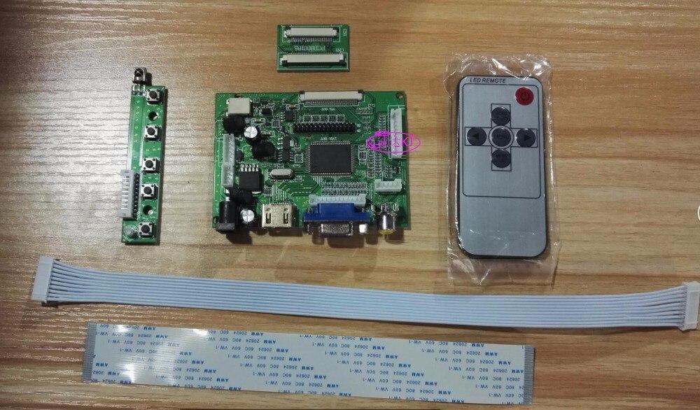 Универсальный HDMI VGA 2AV 50pin TTL LVDS плате контроллера Модуль Мониторы комплект для Raspberry Pi ЖК-дисплей AT070TN90 V.1 Панель Бесплатная доставка