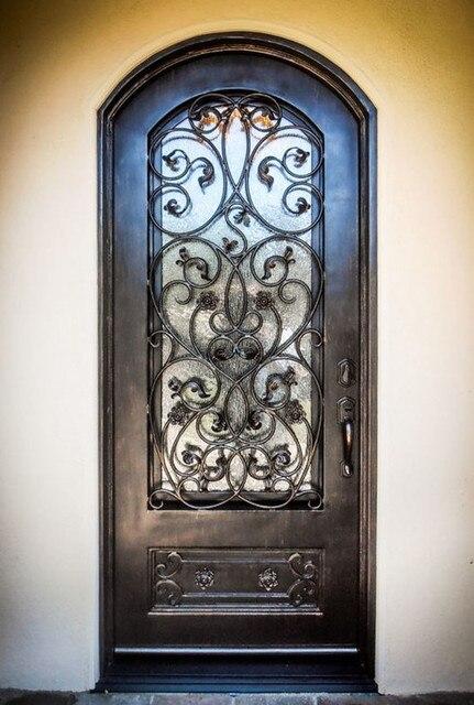 Custom 38 X96wrought Iron Doors Front Doors Iron Entry Doors Hench