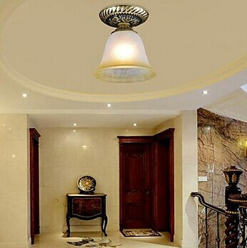 ФОТО 1 Light Copper European Retro LED Vintage Ceiling Light For Home Indoor Lightings,E27 Bulb Included,AC 90V~260V