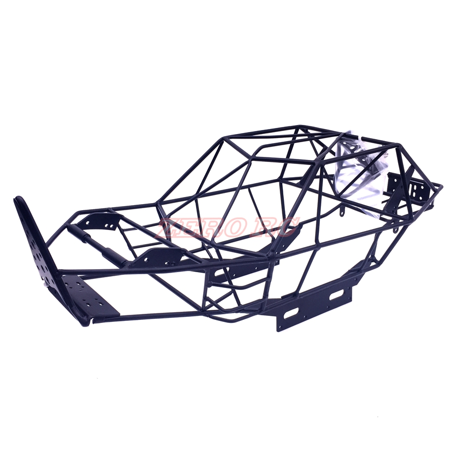 RC 1 10 SCALE AXIAL WRAITH RR10 BOMBER FULL METAL FRAME BODY ROLL CAGE BLACK