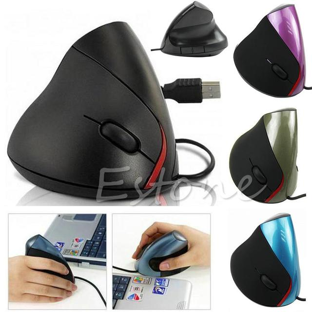 Wired Vertical Gaming Mouse 2