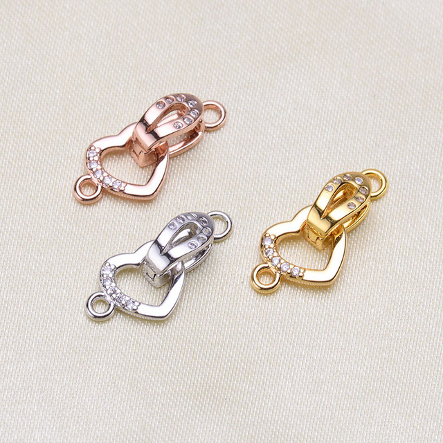 High Quality Alloy Thick Plating Long-Term Shiny Clasps & Hooks Jewelry Findings For Jewelry Making Bracelet Necklace Material