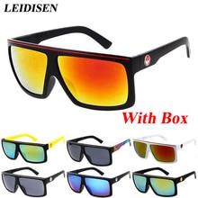 Con caja de Gafas de Sol de La Marca de Moda gafas de Sol de Recubrimiento Mujeres/Hombres Retro Vintage Gafas de diseño Gafas de sol oculos feminino