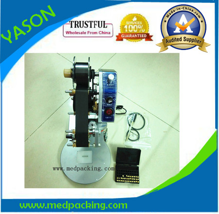 ФОТО Manual Ribbon Date Coding Machine,Batch Number Printer Label Printing Machine GRINDING