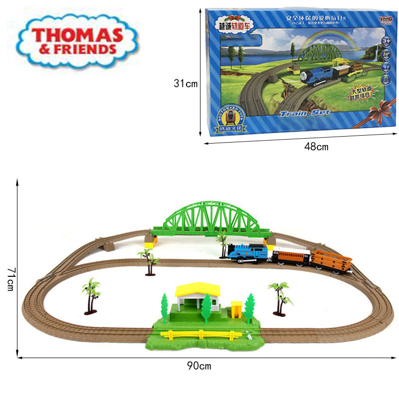 Thomas And Friends Diecasts Toy Vehicles Car Small Train Electric Rail  Model Set Toy Children's Puzzle Assembly Birthday Gift