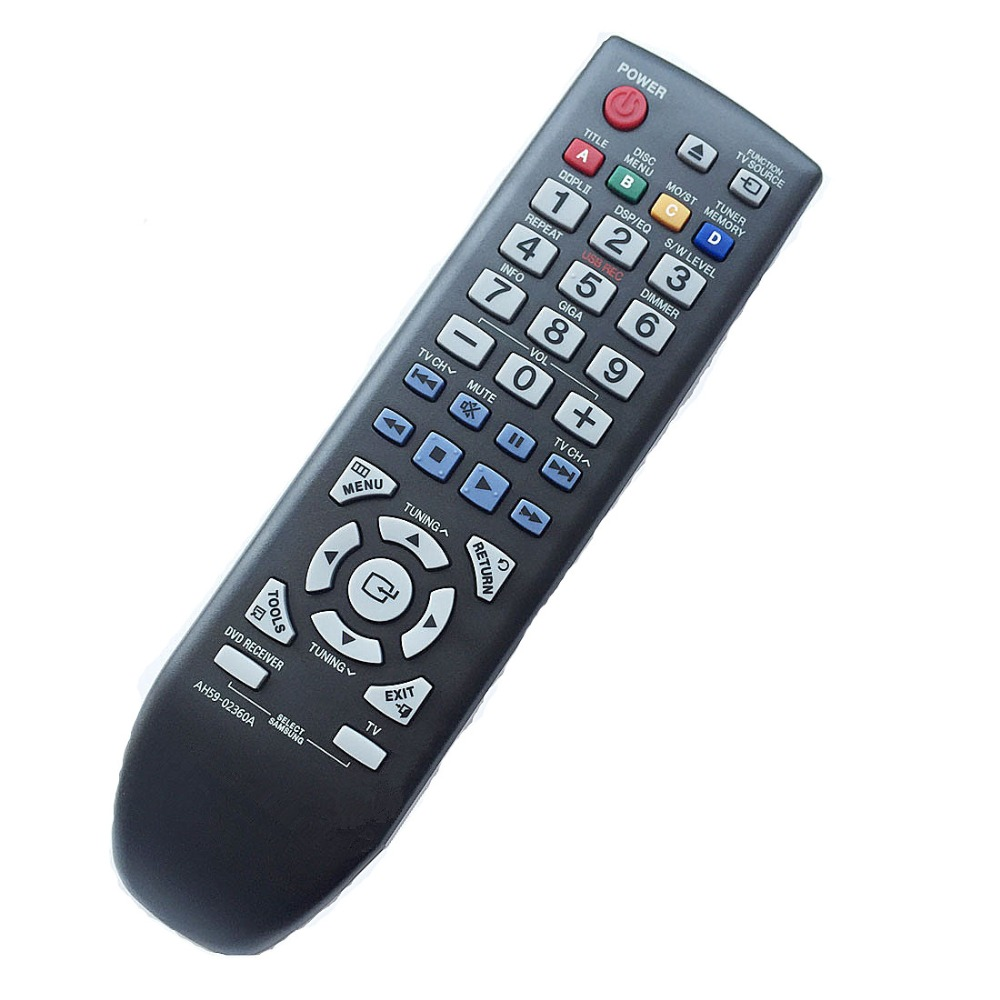 New remote control for SAMSUNG Home Theater DVD player Remote Controller AH59-02360A chunghopchunghop media remote control controller dvd entertainment multimedia for xbox one new