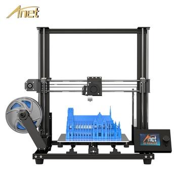 Anet A8 plus Upgrade 3D Printer Kit Plus Size 300*300*350mm High Precision Metal Large 3D Printer DIY with filament Impresora 3D