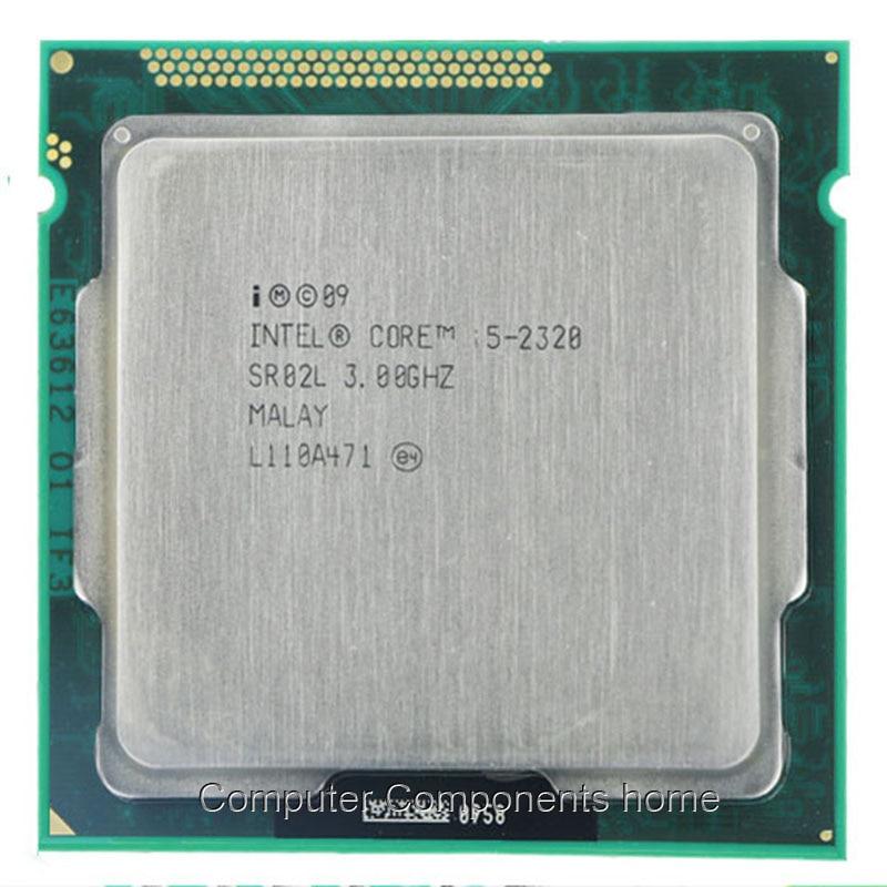 Intel Core I5-2320 Quad-Core Processor 3.0 GHz 6 MB Cache LGA 1155