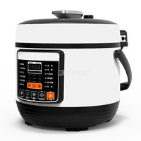 5L Multi function Electric Pressure Food Cooker Rice Cooker Stainless Steel + Non Stick Inner Tank Soup Cooking Machine YG D5005