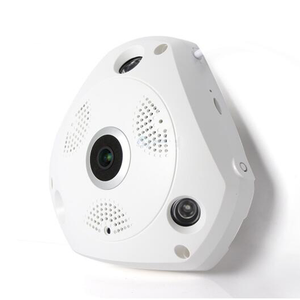 1 PCS 360 Camera IP 1.3MP Fish Eye Panoramic 960P PTZ CCTV 3D VR Video IP Kamera Cam Micro SD Card Audio Remote Home Monitoring