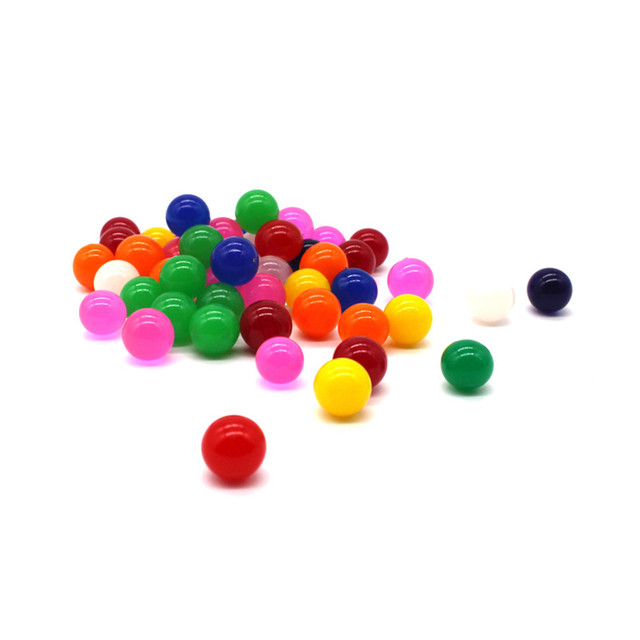 Abbyfrank Water Beads 50pcs/25pcs Water Ball Soft Crystal Soil Ball Magic Toys Small Bolus Small Bolus Pretty Toys For Kids