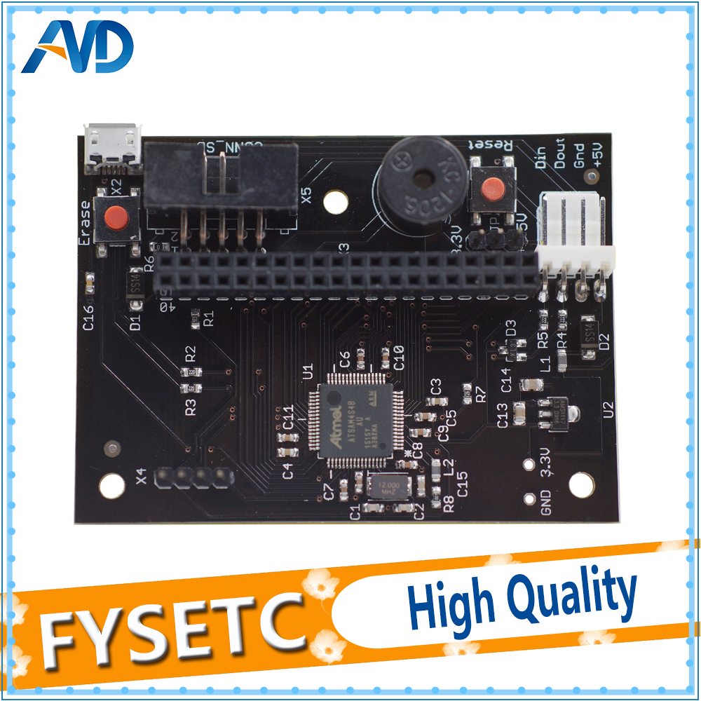 Cloned PanelDue Controller Board For Connecting DuetWifi Advanced 32 Bit Electronics and 4 3 5 7