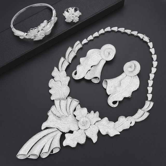 Luxury Leaf Jewelry Set