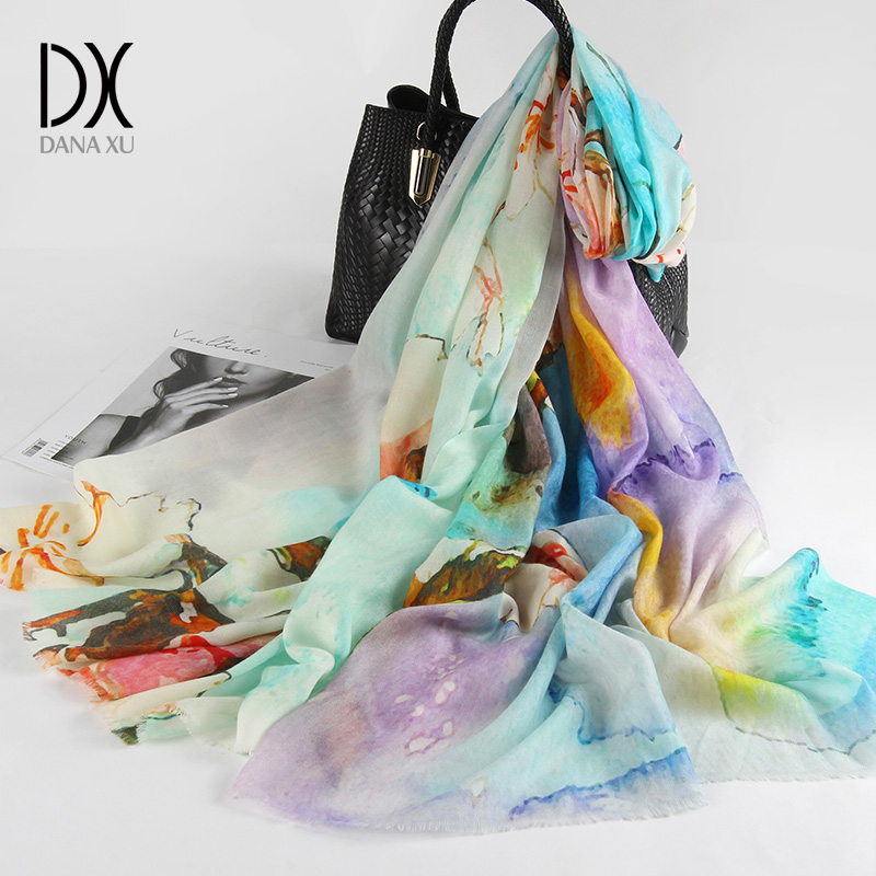 Winter luxury Brand Plaid Cashmere   Scarf   Women Oversized Blanket   Scarf     Wrap   long Wool   Scarf   Women Pashmina Shawls and   Scarves