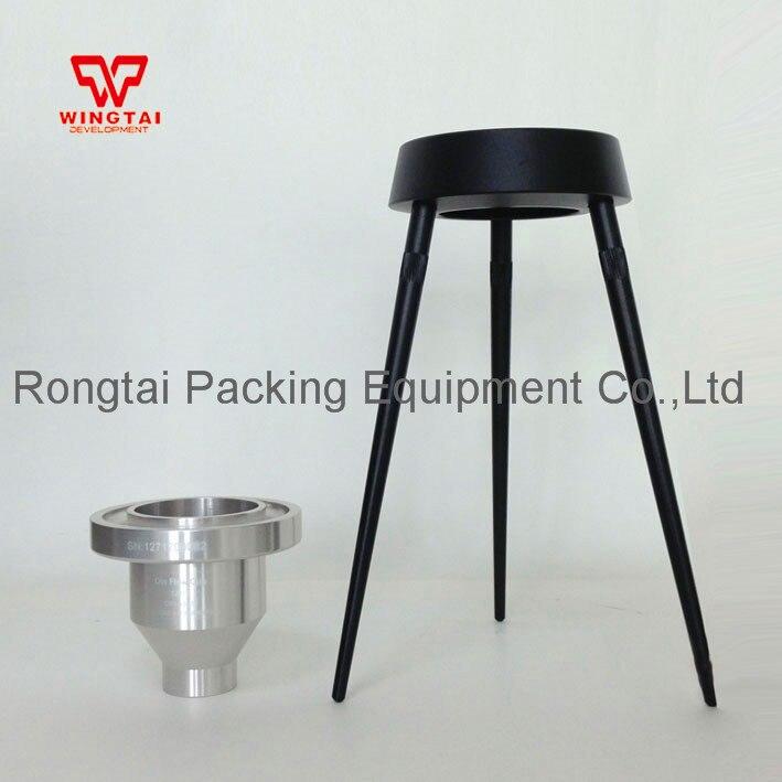 1 Set 100ml Din 4 Aluminum Alloy Paint Viscosity Cup/ Flow Cup Viscometers With Tripod