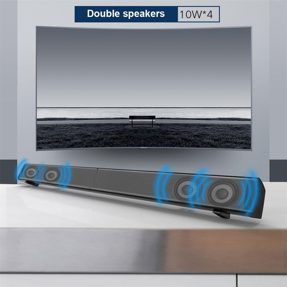 XGODY S LP09 Sound Bar für TV Drahtlose Lautsprecher Heimkino sound ...