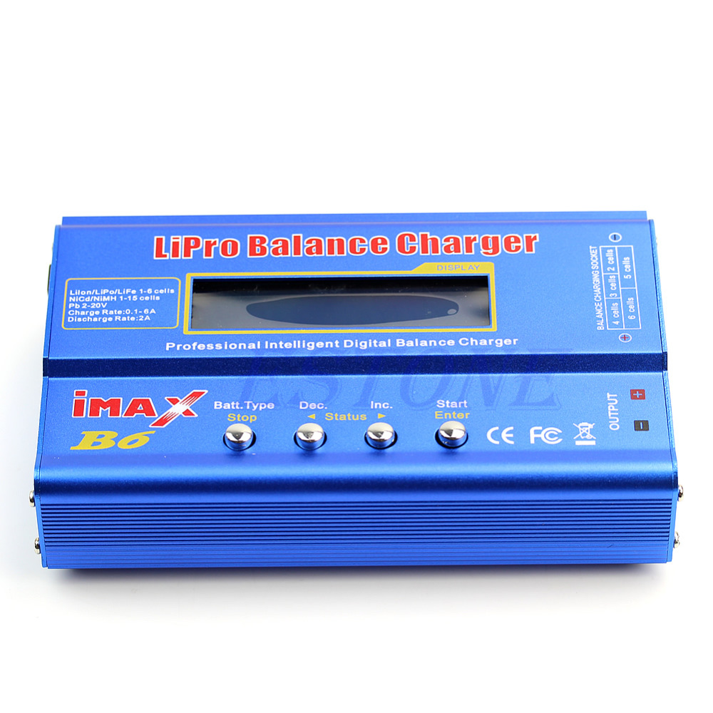 где купить Good Quality imax B6 AC Lipro NiMh Li-ion Ni-Cd RC Battery Balance Digital Charger Power Adapter по лучшей цене