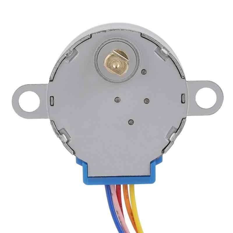 5 unids/lote inteligente electrónica Motor paso a paso 28BYJ-48 5V 4-Fase 5-alambre DC engranaje Motor Micro reducción para arduino DIY Kit