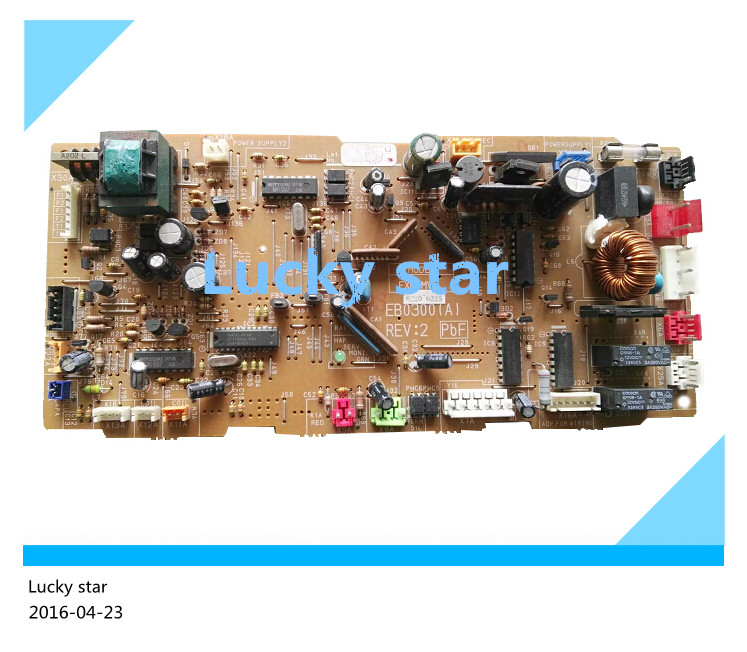 95% new for Air conditioning computer board circuit board EB0300(A) FXD-MVE good working игрушка надувная intex акула