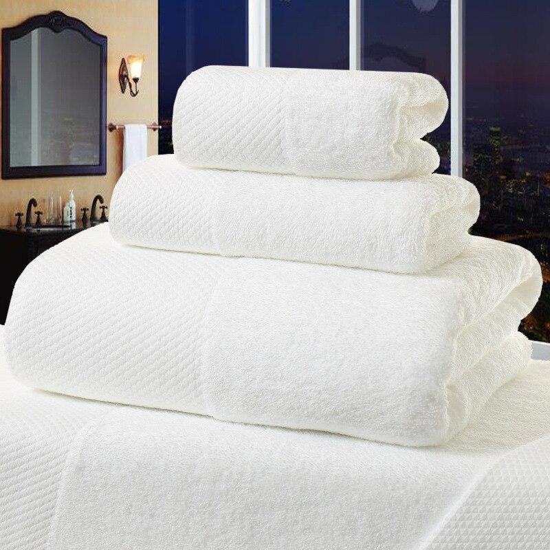 Beijo rainha 5 estrelas hotel 100% algodão branco toalha de banho grosso toalha de praia secagem rápida macio alta absorvente antibacteriano