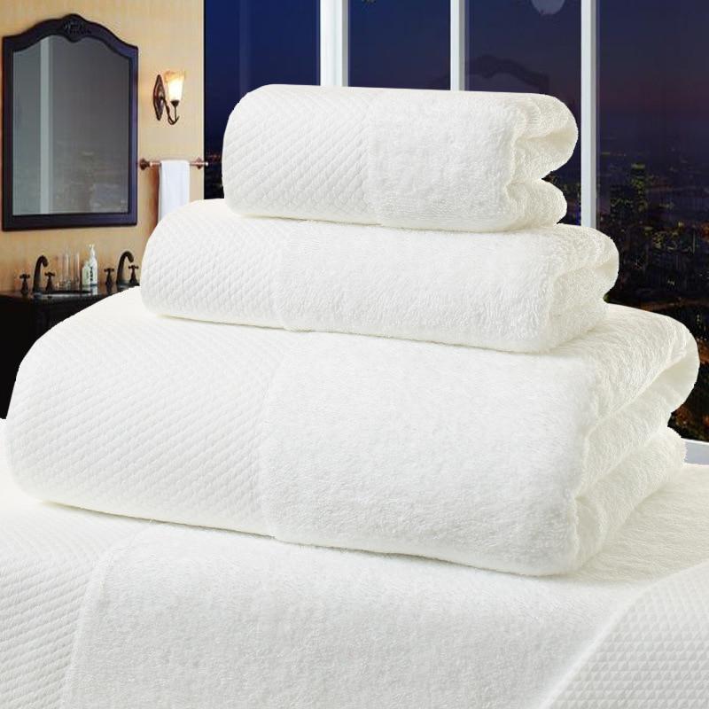 Белое банное полотенце KISS QUEEN 5 звезд для отеля из 100% хлопка, толстое пляжное полотенце, быстросохнущее, мягкое, Хорошо Впитывающее, антибакт...