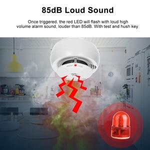 Image 4 - Wifi Rookmelder Smart Fire Alarm Sensor Draadloze Beveiliging Systeem Smart Leven Tuya APP Controle Smart Home