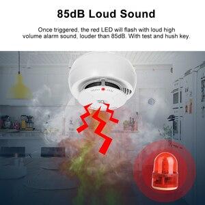 Image 4 - Wifi Smoke Detector Smart Fire Alarm Sensor Wireless Security System Smart Life Tuya APP Control Smart Home