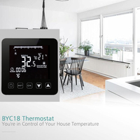 Digital Water Floor Heating Thermostat Programmable Room Temperature Controller LCD Display 3A Thermostat