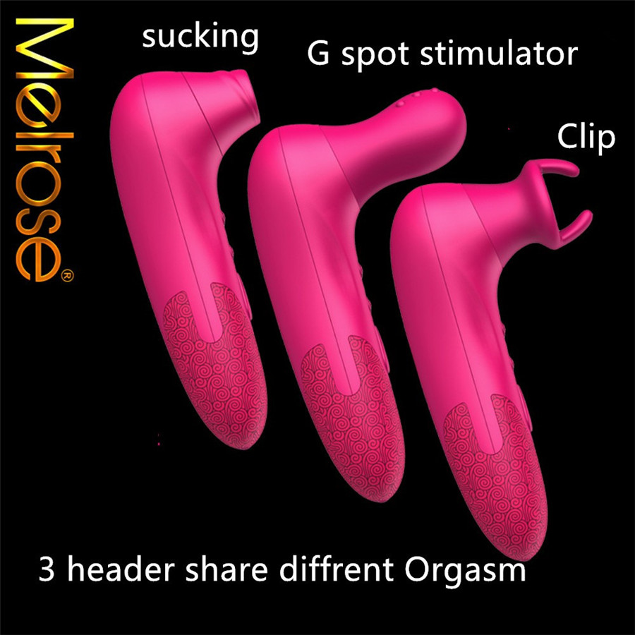 Clitoris sucking machine