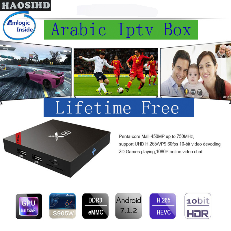 X96 TV box Free forever Smart tv iptv arabic lifetime free 2000+ Arabic Africa America chs good for Australia Sweden live кошелек мужской piquadro blue square pu1129b2 n черный натур кожа