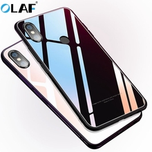 Olaf tempered glass phone case for Xiaomi