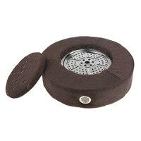 1 PCS Smokeless Moxa Burner Seat Cushion Body Hip Back abdomen Massage Pain Ease Body Relax Acupuncture Soft Heat