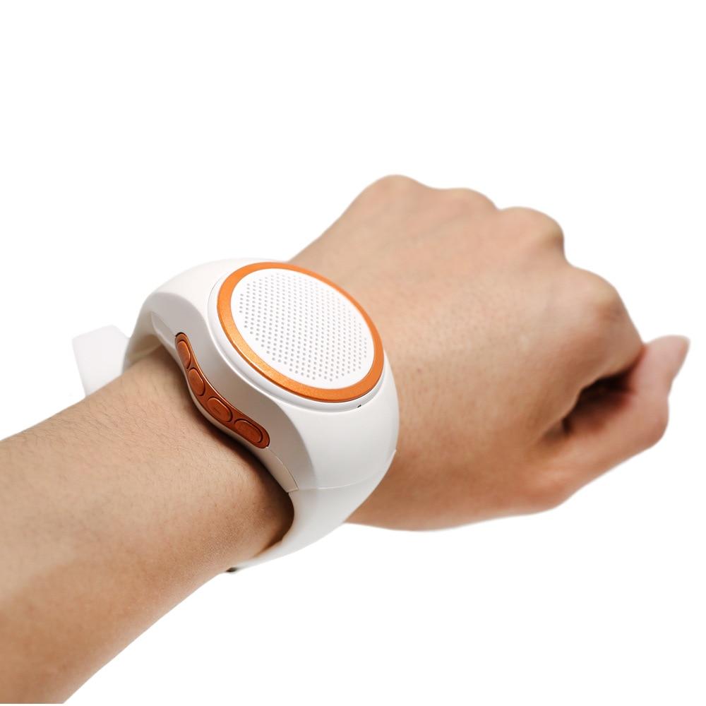Smart Watch speaker FM Radio wristband MIni portable Mp3 player selfie Handsfree call  wireless Bluetooth Speaker
