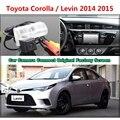 Для Toyota Corolla/Левин 2014 2015 Автомобиля Камера Подключена Оригинальный Экран Монитора и Заднего Вида Резервного Копирования Камеры Оригинальный автомобиля экрана