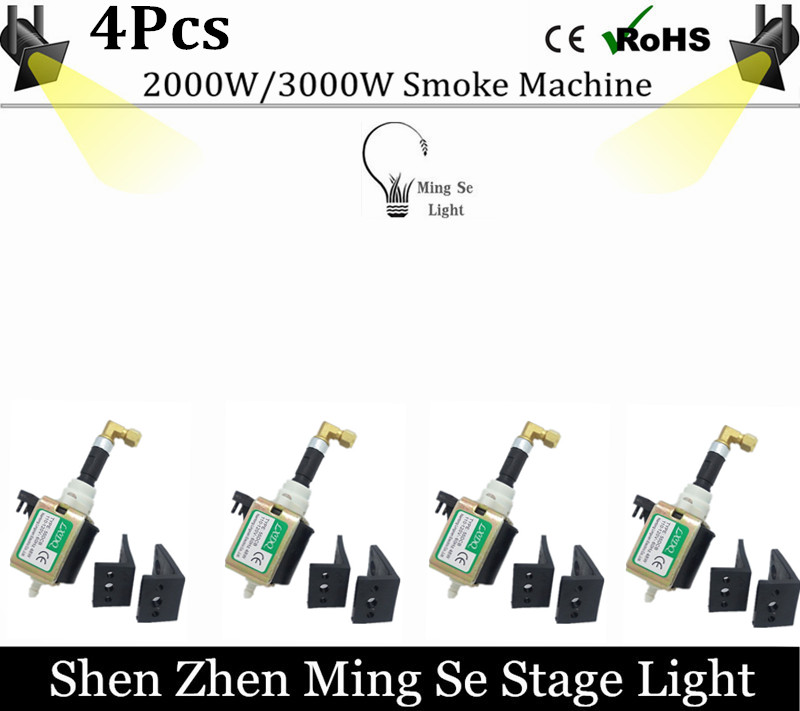 4pcs/lots  48W Pump smoke machie 2000W/3000W oil pump dedicated 55DCB AC110-240V oil pump stage fog machine manka care 110v 220v ac 50l min 165w small electric piston vacuum pump silent pumps oil less oil free compressing pump