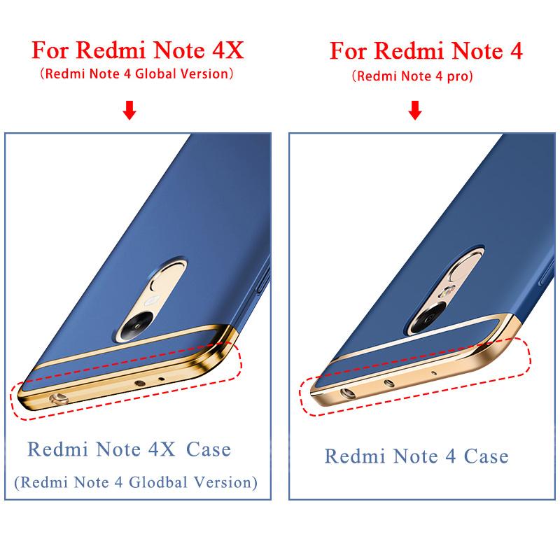 Xiaomi redmi note 4 bastec case luksusowe 3-w-1, odporna na wstrząsy matowe tarcza dysk back cover case dla xiaomi redmi note 4x 1