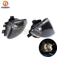 POSSBAY Halogen Auto Car Fog Light Lamp Daytime Running Car Light Source For BWM 5 series F10/11/18 5 series 2009 2013