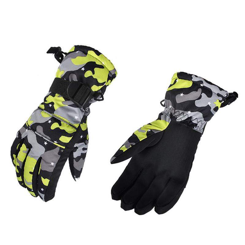 Men Women Army Military Tactical Gloves 2018 Winter Windproof Waterproof Heated Driving Ski Gloves Long Touch Mittens Gants